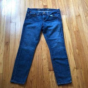 EUC J.Crew toothpick ankle jeans